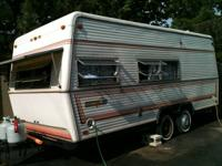 1982 Aluma Lite 18 foot pull behind camper , all new