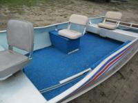 Up for Auction: 1982 Alumacraft Lunker 16 Boat. This