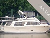 Up for sale is a 1982 Bluewater Yachts 47' Motor Yacht.