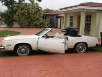 1982 Cadillac Eldorado convertible, V8 , automatic
