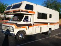 1982 Chevrolet 350 Class C. This motor home is in mint
