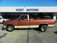 West Motors has for sale a good running 1982 Chevy C10