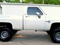 1982 CHEVY SILVERADO 4X4 FRESHLY BUILT!!!!!      NEW