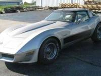 1982 Chevrolet Corvette, Collectors Edition 350 V8,