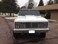 Here is a 1982 Chevy Silverado 4X4 K10 Shortbox fully