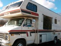 1982 Class C 24 ft. motor home with a V8 CHEVY