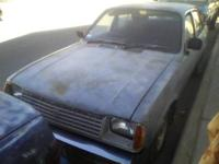 1982 Isuzu I Mark Car iT IS A DIESEL CAR 4 cylinder