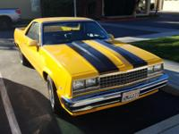 FOR SALE! 1982 EL CAMINO PRICE WAS $13,500 NOW ASKING