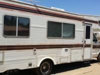 Older motor home, sleeps 6 people, Low mileage, Needs