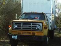 This a 1982 18 foot box truck with lift gate model