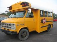 School Bus that was used by a local congregation. Runs