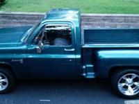 1982 GMC Sierra stepside. Truck has the initial 305