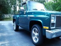 1982 GMC Sierra stepside. Truck has the original 305
