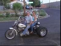 1982 Harley Davidson FXR Shovelhead Trike. Custom