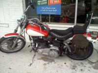 1982 HARLEY DAVIDSON SHOVEL HEAD MOTORCYCLE 1340CC