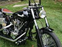For sale: One beautiful trip. This motorcycle was
