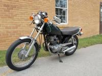 This is a 1982 Honda cm 250 c cafe. Great for anybody