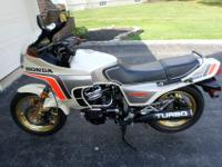 1982 Honda CX500 TurboIn then I have put 880 miles on