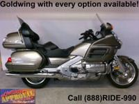 1982 Honda Goldwing - GL1100 with Vetter Fairing and