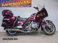 1982 Honda Goldwing GL1100 for sale only $1,500! Nice