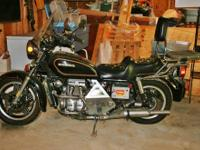 1982 Honda Goldwing GL1100: Touring Top of the Line-