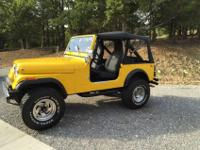 This is a nice basic jeep. Runs and drives great. I