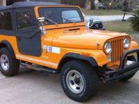 I'm selling my 1982 Jeep CJ7 The Jeep's in really good