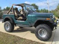 Beautiful and eye catching Metallic Green CJ7 In