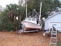 1982 Jefferson Lafittee Skiff 31 foot Shrimp Boat (on