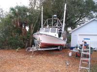 1982 Jefferson Lafittee Skiff 31 foot Shrimp Boat (on