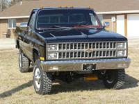 For sale: 1982 Chevrolet Silverado K30 1-ton single