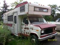1982 KEYSTONE MOTORHOME PROJECT LESS THAN 40.000 MILES