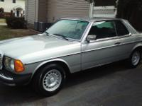 1982 Mercedes Benz 300CD Coupe Turbo Diesel. This car