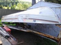 15' Mirrocraft Rowboat with Tee Nee Trailer. Floats