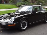 1982 Porsche 911 SC Targa Black ONLY 73k ORIGINAL