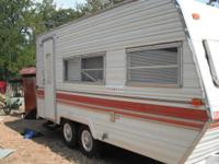 1982 Prowler camper in great shape with all updated