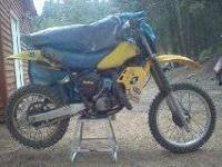 "I have a ""1982"" Suzuki Racing dirt bike in great"