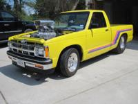 1982 Chevy S10, 383 stroker with 6-71 refined blower,