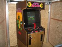 Sega Super Zaxxon arcade game, this unit stands 6' tall
