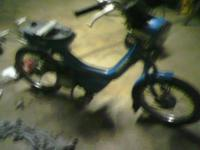 I HAVE A 1982 SUZUKI FA 50CC MOPED FOR PARTS OR TO FIX