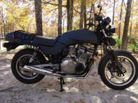 HAVE A NICE CLEAN 82 SUZUKI GS 1100E IN GREAT RUNNING