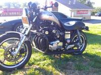 Completely redone custom bike. Inline 4, carbed. New
