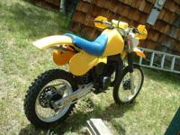 This is my 1982 Suzuki RM465Z I bought it new and have