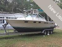 1982 TIARA 2700 CRUISER FOR SALE! This 2700 is probably