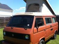 Up for sale is a 1982 VW Vanagon WestFalia ( Westy ) -