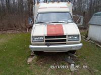 1982 rv Winnebago 21' cHEVROLET POWERED 350 AUTOMATIC