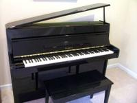 1982 Yamaha M1A Upright Baby Grand Piano: $1500 (was
