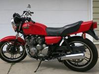 I have here a 1982 Yamaha XJ550 Seca (XJ550R) that is
