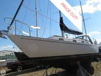 1982 Bristol Yachts Centerboard Ketch Powered with a 24