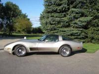 1982 Chevrolet Corvette High Performance This 1982